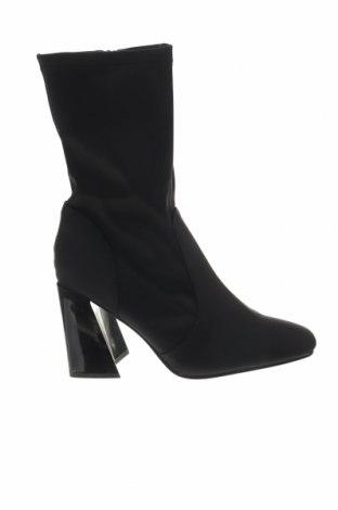 Γυναικείες μπότες Truffle, Μέγεθος 41, Χρώμα Μαύρο, Κλωστοϋφαντουργικά προϊόντα, Τιμή 8,14€