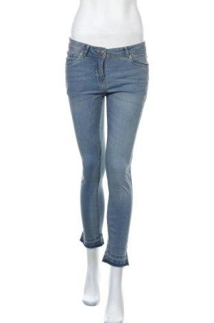 Дамски дънки Blue Motion, Размер S, Цвят Син, 98% памук, 2% еластан, Цена 9,92лв.