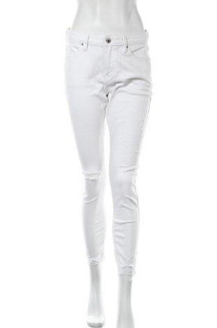 Дамски дънки Edc By Esprit, Размер M, Цвят Бял, 93% памук, 7% еластан, Цена 20,06лв.