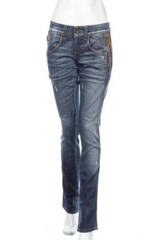 Дамски дънки Fornarina, Размер L, Цвят Син, 98% памук, 2% еластан, Цена 28,50лв.