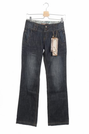 Дамски дънки Kenvelo, Размер XS, Цвят Син, Памук, Цена 11,47лв.