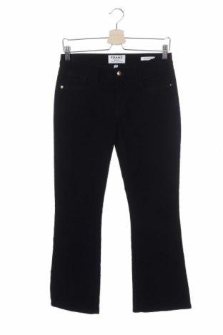 Дамски джинси Frame, Размер XS, Цвят Син, 97% памук, 3% еластан, Цена 21,40лв.