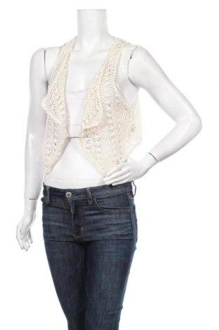 Дамски елек H&M, Размер S, Цвят Екрю, 73% полиестер, 27% памук, Цена 5,50лв.