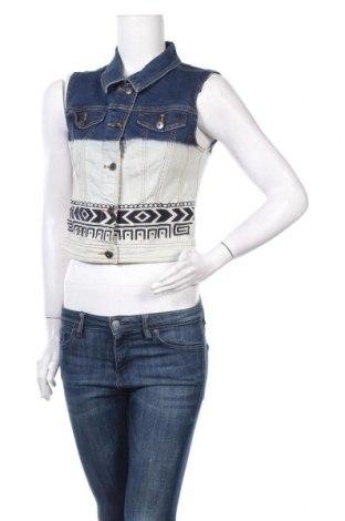 Дамски елек Vero Moda, Размер M, Цвят Син, 99% памук, 1% еластан, Цена 9,19лв.