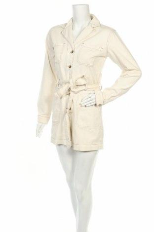 Γυναικεία τζίν σαλοπέτα Glamorous, Μέγεθος S, Χρώμα Εκρού, Βαμβάκι, Τιμή 22,81€