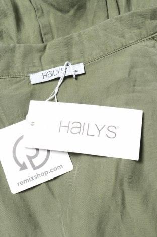 Дамски гащеризон Hailys, Размер M, Цвят Зелен, Тенсел, Цена 31,05лв.