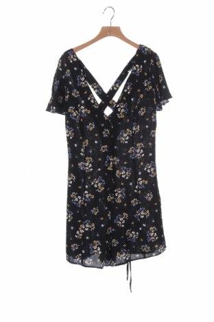 Дамски гащеризон Miss Selfridge, Размер XS, Цвят Черен, Вискоза, Цена 20,80лв.