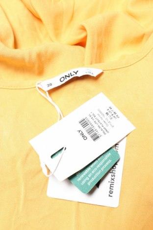 Дамски гащеризон ONLY, Размер S, Цвят Жълт, Вискоза, Цена 27,60лв.