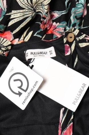 Дамски гащеризон Pull&Bear, Размер XXS, Цвят Многоцветен, Вискоза, Цена 19,60лв.