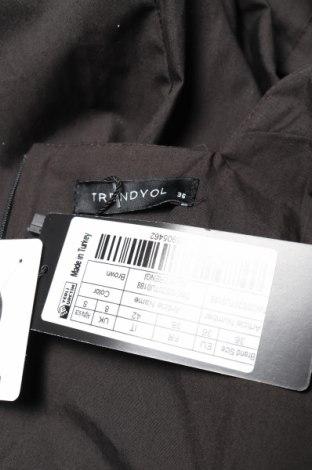 Дамски гащеризон Trendyol, Размер S, Цвят Черен, Памук, Цена 23,60лв.