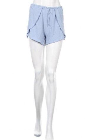 Γυναικείο κοντό παντελόνι Double Agent, Μέγεθος M, Χρώμα Μπλέ, Βισκόζη, Τιμή 8,23€
