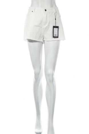 Дамски къс панталон Even&Odd, Размер L, Цвят Бял, Памук, Цена 21,00лв.