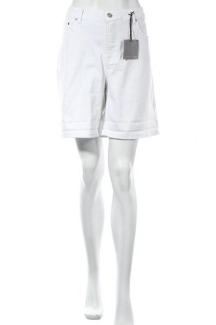 Дамски къс панталон Guido Maria Kretschmer, Размер XXL, Цвят Бял, 98% памук, 2% еластан, Цена 43,20лв.