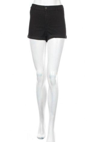Γυναικείο κοντό παντελόνι H&M Divided, Μέγεθος S, Χρώμα Μαύρο, 62% βαμβάκι, 36% πολυεστέρας, 2% ελαστάνη, Τιμή 10,52€