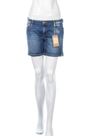 Γυναικείο κοντό παντελόνι Le Temps Des Cerises, Μέγεθος M, Χρώμα Μπλέ, Τιμή 13,89€