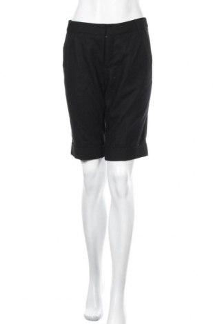Γυναικείο κοντό παντελόνι Mexx, Μέγεθος M, Χρώμα Μαύρο, 66% μαλλί, 29% βισκόζη, 3% πολυεστέρας, 2% πολυαμίδη, Τιμή 5,68€