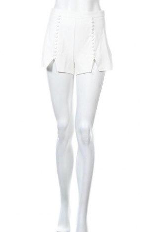 Γυναικείο κοντό παντελόνι Missguided, Μέγεθος S, Χρώμα Λευκό, Τιμή 9,64€