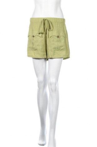 Γυναικείο κοντό παντελόνι Missguided, Μέγεθος S, Χρώμα Πράσινο, Τιμή 9,29€