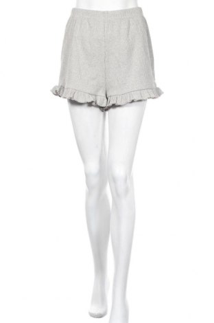Γυναικείο κοντό παντελόνι Missguided, Μέγεθος S, Χρώμα Γκρί, 85% βαμβάκι, 10% πολυεστέρας, 5% ελαστάνη, Τιμή 9,29€