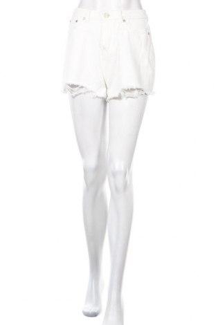 Γυναικείο κοντό παντελόνι Missguided, Μέγεθος S, Χρώμα Λευκό, 88% βαμβάκι, 12% πολυεστέρας, Τιμή 8,77€