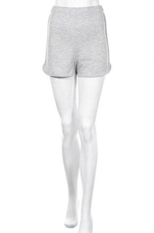 Γυναικείο κοντό παντελόνι Missguided, Μέγεθος S, Χρώμα Γκρί, 95% πολυεστέρας, 5% ελαστάνη, Τιμή 9,29€