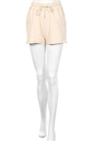 Дамски къс панталон Missguided, Размер S, Цвят Бежов, 52% полиестер, 48% памук, Цена 25,50лв.