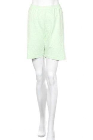 Γυναικείο κοντό παντελόνι Missguided, Μέγεθος XL, Χρώμα Πράσινο, Τιμή 9,64€