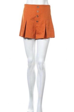 Γυναικείο κοντό παντελόνι Missguided, Μέγεθος XS, Χρώμα Πορτοκαλί, Τιμή 9,64€