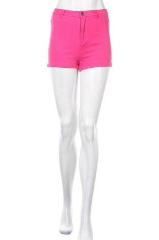 Γυναικείο κοντό παντελόνι Missguided, Μέγεθος S, Χρώμα Ρόζ , 98% βαμβάκι, 2% ελαστάνη, Τιμή 10,21€