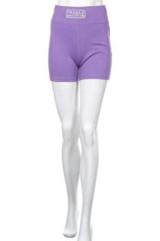 Γυναικείο κοντό παντελόνι Missguided, Μέγεθος S, Χρώμα Βιολετί, Τιμή 9,64€