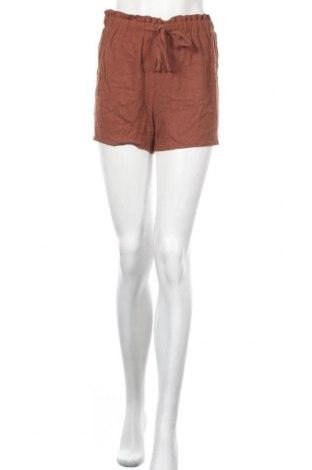 Γυναικείο κοντό παντελόνι Missguided, Μέγεθος S, Χρώμα Καφέ, Τιμή 9,64€