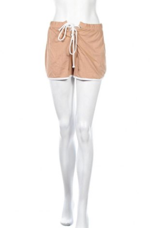 Γυναικείο κοντό παντελόνι Missguided, Μέγεθος S, Χρώμα  Μπέζ, Τιμή 9,64€