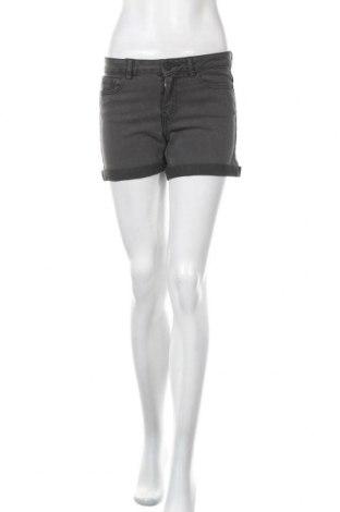 Γυναικείο κοντό παντελόνι Noisy May, Μέγεθος S, Χρώμα Γκρί, 79% βαμβάκι, 18% πολυεστέρας, 3% ελαστάνη, Τιμή 13,39€