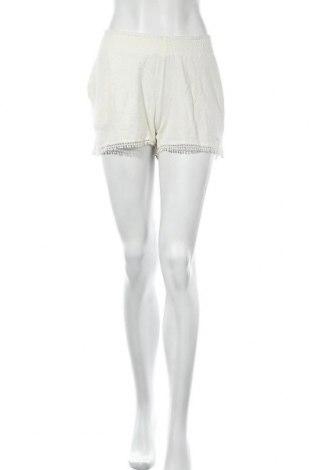 Γυναικείο κοντό παντελόνι O'neill, Μέγεθος L, Χρώμα Λευκό, 99% βαμβάκι, 1% ελαστάνη, Τιμή 16,12€
