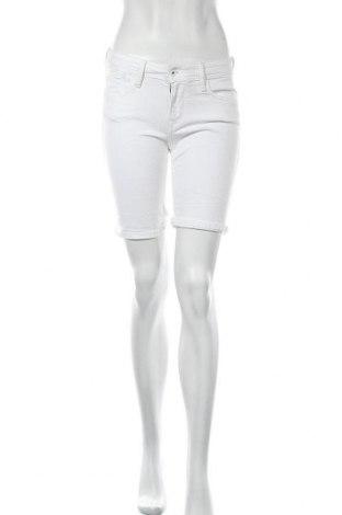 Γυναικείο κοντό παντελόνι Pepe Jeans, Μέγεθος S, Χρώμα Λευκό, 98% βαμβάκι, 2% ελαστάνη, Τιμή 27,05€