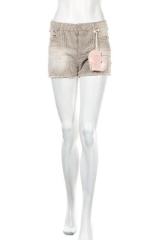 Γυναικείο κοντό παντελόνι Please, Μέγεθος S, Χρώμα  Μπέζ, 98% βαμβάκι, 2% ελαστάνη, Τιμή 22,17€