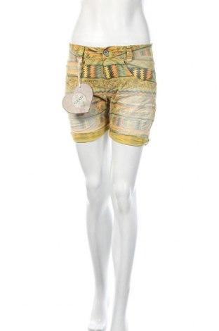 Γυναικείο κοντό παντελόνι Please, Μέγεθος XS, Χρώμα Πολύχρωμο, 97% βαμβάκι, 3% ελαστάνη, Τιμή 22,02€