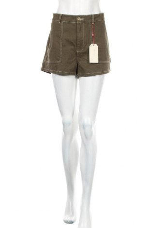 Γυναικείο κοντό παντελόνι Twintip, Μέγεθος XL, Χρώμα Πράσινο, Βαμβάκι, Τιμή 10,89€