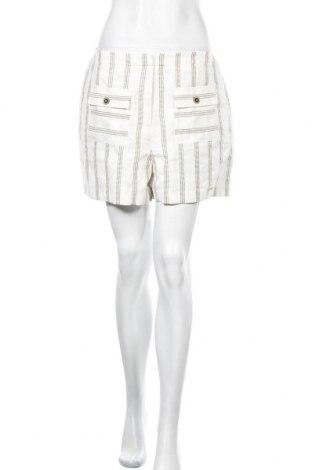 Γυναικείο κοντό παντελόνι Ted Baker, Μέγεθος M, Χρώμα Λευκό, 55% λινό, 45% πολυεστέρας, Τιμή 33,25€