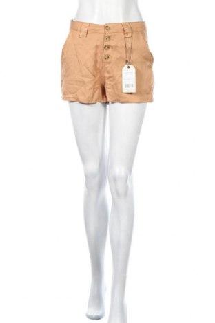 Γυναικείο κοντό παντελόνι Twintip, Μέγεθος S, Χρώμα Καφέ, Lyocell, Τιμή 11,06€