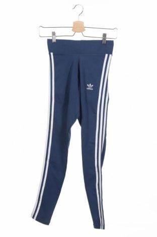 Дамски клин Adidas Originals, Размер XXS, Цвят Син, 93% памук, 7% еластан, Цена 69,00лв.