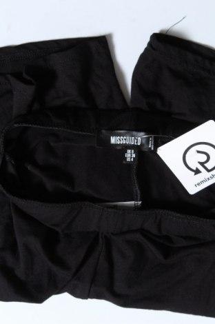 Дамски клин Missguided, Размер S, Цвят Черен, 95% вискоза, 5% еластан, Цена 19,50лв.