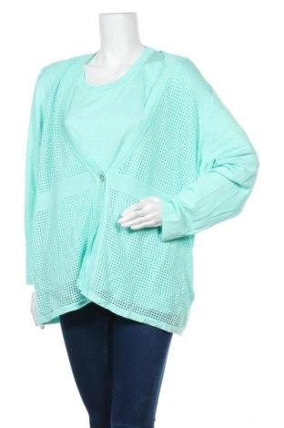 Дамски комплект, Размер 3XL, Цвят Зелен, Акрил, Цена 28,98лв.