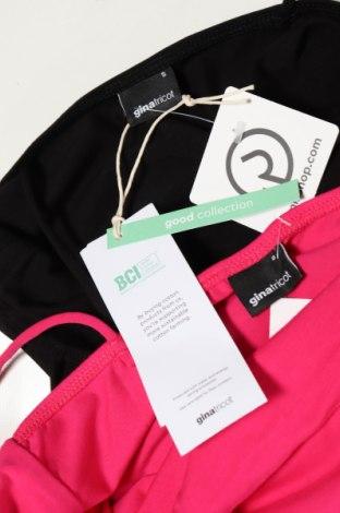 Дамски комплект Gina Tricot, Размер S, Цвят Черен, 95% памук, 5% еластан, Цена 19,00лв.