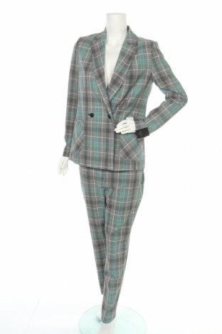 Дамски костюм Next, Размер M, Цвят Многоцветен, 70% полиестер, 28% вискоза, 2% еластан, Цена 64,00лв.