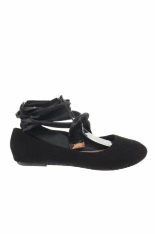 Γυναικεία παπούτσια Bebo, Μέγεθος 38, Χρώμα Μαύρο, Κλωστοϋφαντουργικά προϊόντα, Τιμή 11,37€