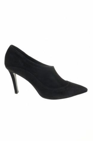 Дамски обувки Fratelli Rossetti, Размер 38, Цвят Черен, Естествен велур, Цена 86,90лв.