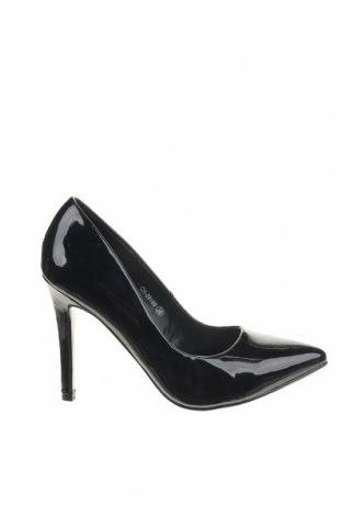 Дамски обувки Manoukian, Размер 38, Цвят Черен, Еко кожа, Цена 22,00лв.