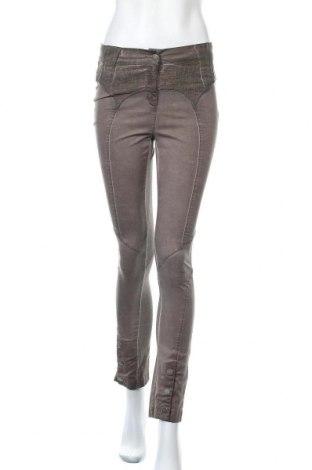 Дамски панталон Angels Never Die, Размер S, Цвят Кафяв, Памук, Цена 10,08лв.