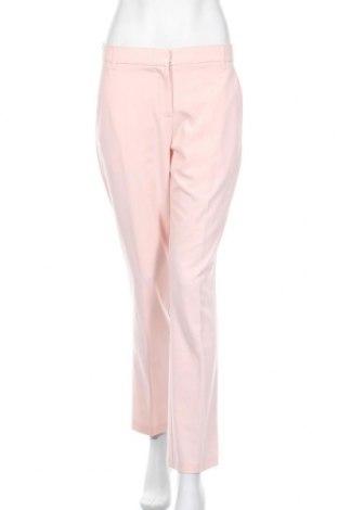 Дамски панталон Bpc Bonprix Collection, Размер M, Цвят Розов, 65% полиестер, 30% вискоза, 5% еластан, Цена 7,28лв.